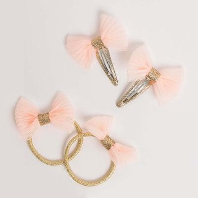 dot2tot Tulle Hair Clip & Hair Tie Set 9014280001
