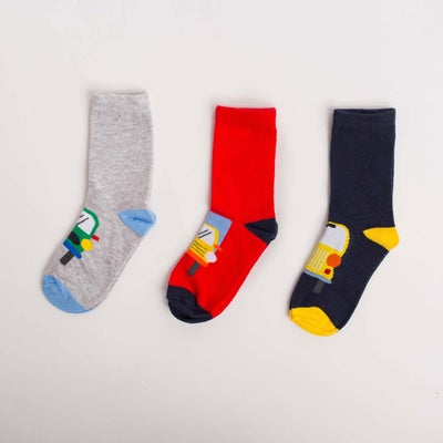 dot2tot Vehicle 3 Pack Socks 9014960001
