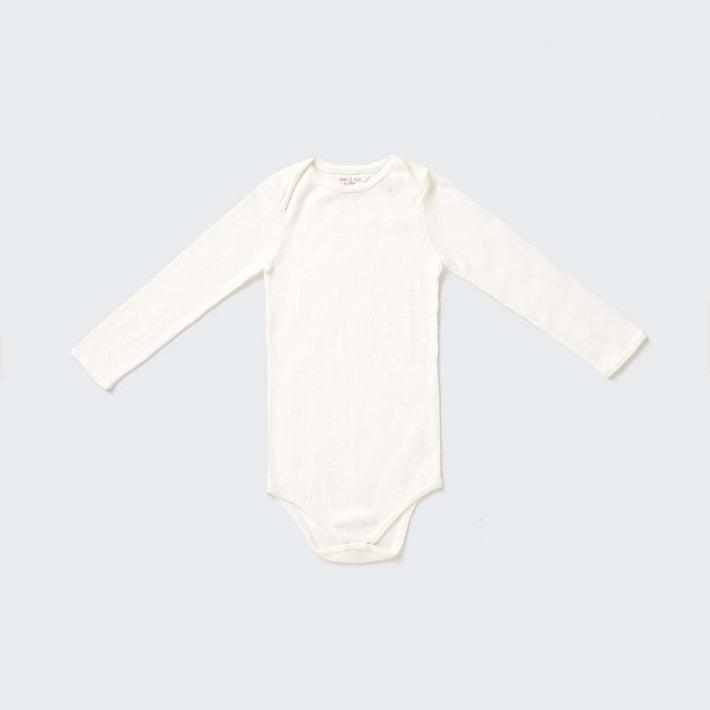 dot2tot Wool Tencel Bodysuit 9012020001