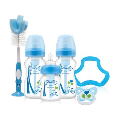 Dr Brown Options Wide Neck Gift Set - Blue 805873