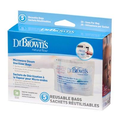 Dr Browns Microwave Sterilizer Bags 5pk 803448