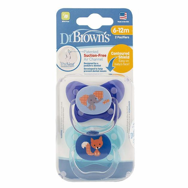 Dr Browns PreVent Dummie Stage 2 2pk 803293