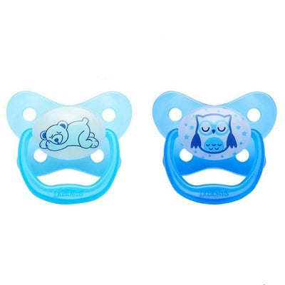 Dr Browns Prevent Glow In The Dark Pacifier Blue - 12mths + 806189
