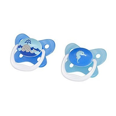 Dr Browns PreVent Soother Stage1 2pk - Blue 806041