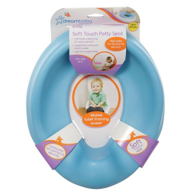 Dreambaby Soft Touch Potty Seat - Blue 800534