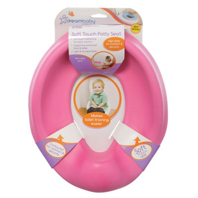 Dreambaby Soft Touch Potty Seat - Pink 800535