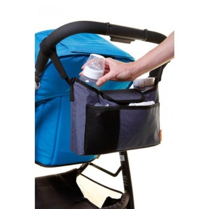 Dreambaby Stroller Buddy on the go Bag - Grey Denim 805088