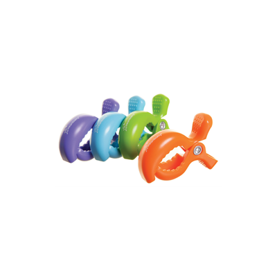 Dreambaby Stroller Clips 4pack - Colours 803789