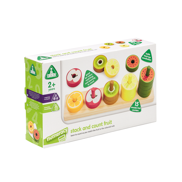 ELC Colour Stack and Count Fruit Stacker 807523