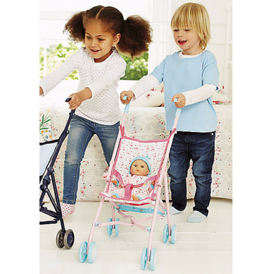 ELC Cup Cake Doll's Stroller - Pink 803053