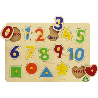 ELC Lift Out Number Puzzle 801737