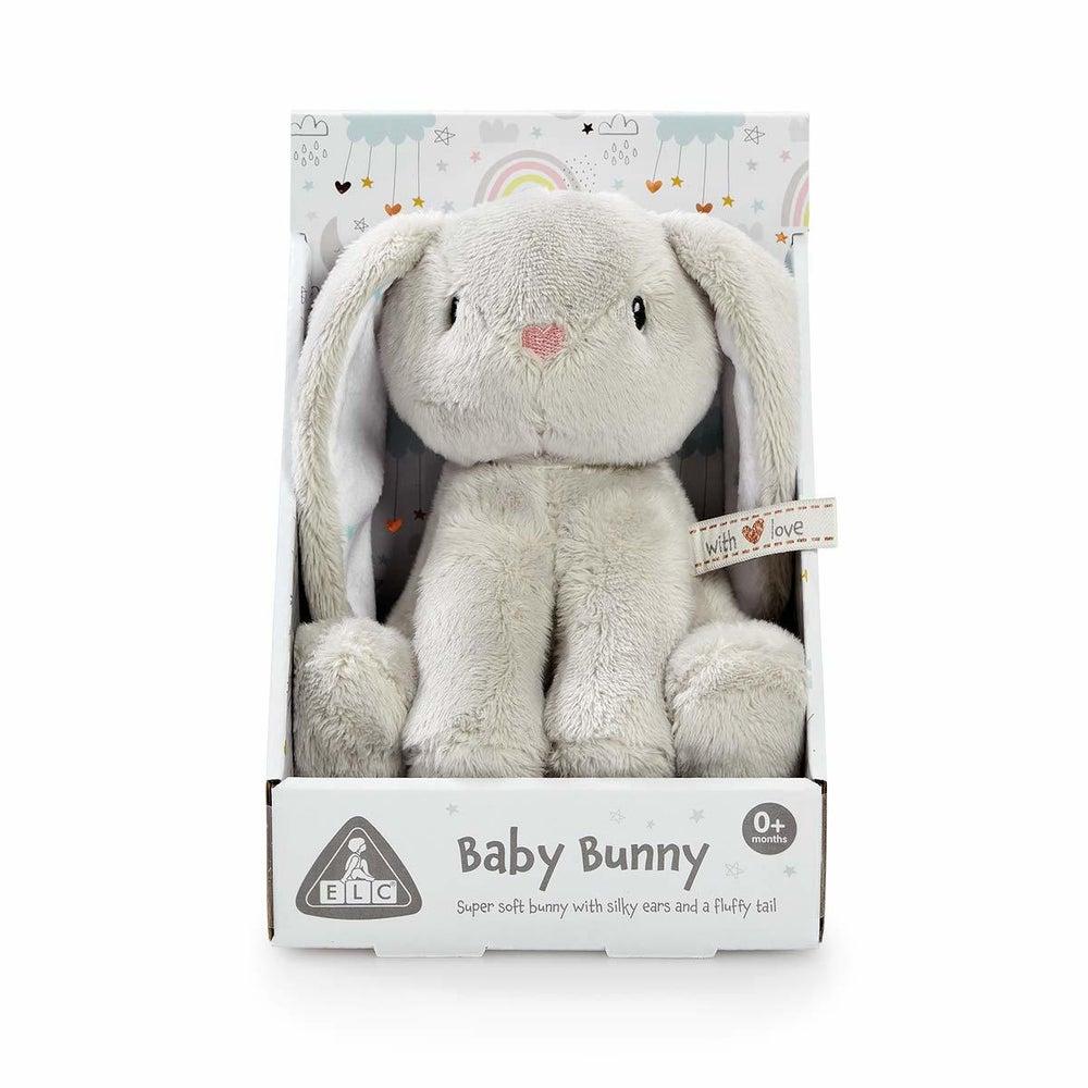 ELC Mini Plush Bunny - Grey 807505
