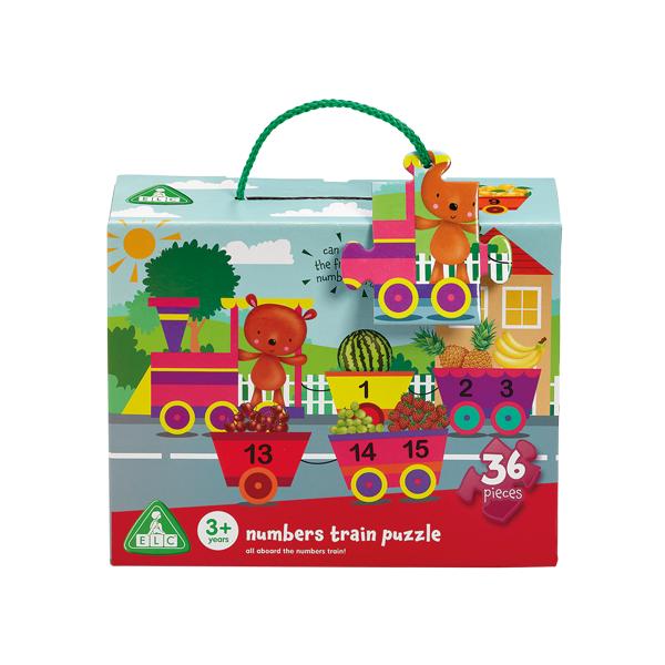 ELC Numbers Fruit Train Puzzle 807524