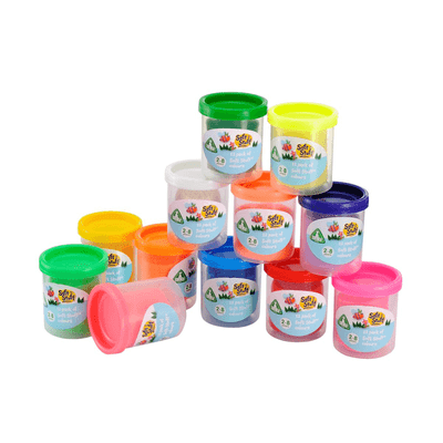 ELC Soft Stuff Dough Tubs - 12 805130