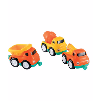 ELC Whizz World Construction Vehicle Magnetic Trio Set 803981