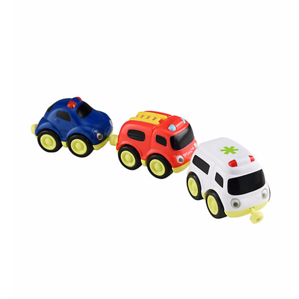 ELC Whizz World Emergency Vehicles Magnetic Trio Set 803979