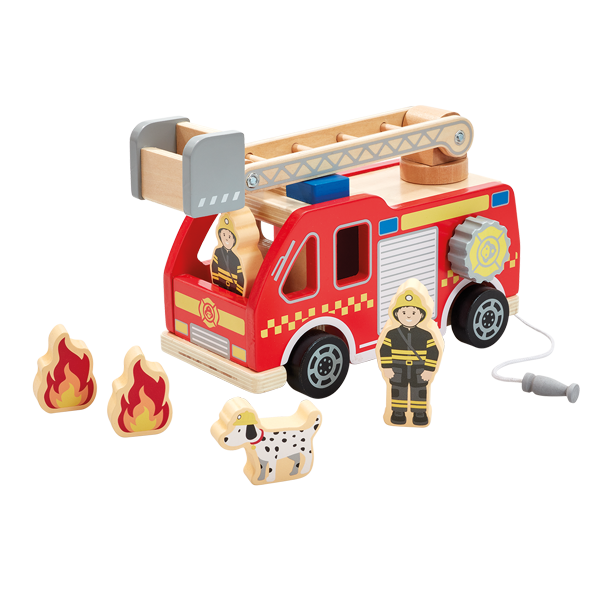 ELC Wooden Fire Engine 807519