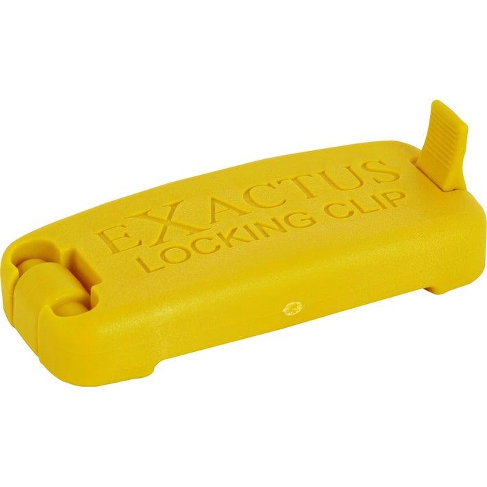 Exactus Locking Clip Yellow 801044