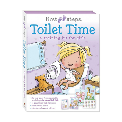 First Steps Toilet Time Training for Girls 808075