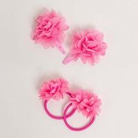 dot2tot Flower Hair Clip & Hair Tie Set 9014290001
