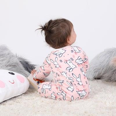 Hi Hop Long Sleeve Bunny Snap Romper 901997001