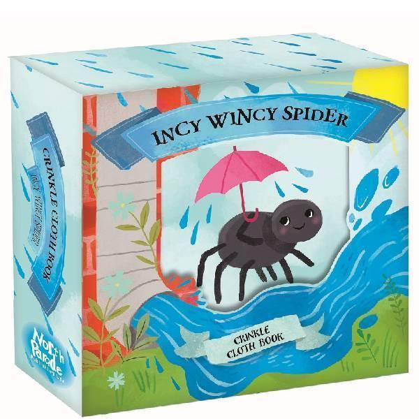 Incy Wincy Spider Crinkle Book 808128