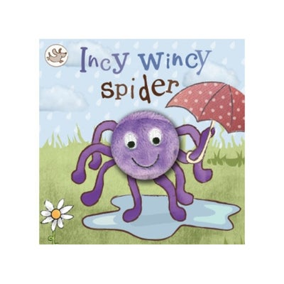 Incy Wincy Spider Finger Puppet Book 802742