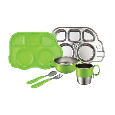 Innobaby Stainless Steal Meal Set Green 805722