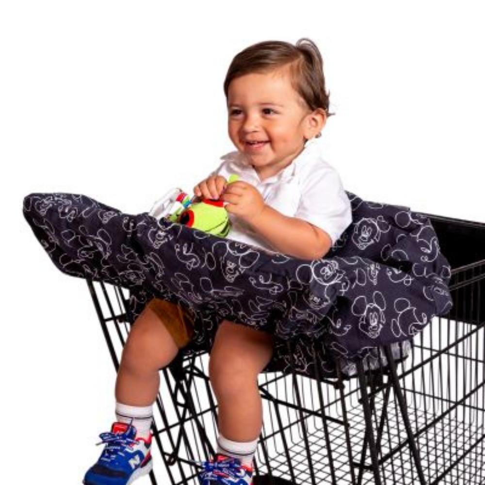 JL Childress JL Childress Baby Shopping Cart & High Chair Cover Mickey Mouse 808228