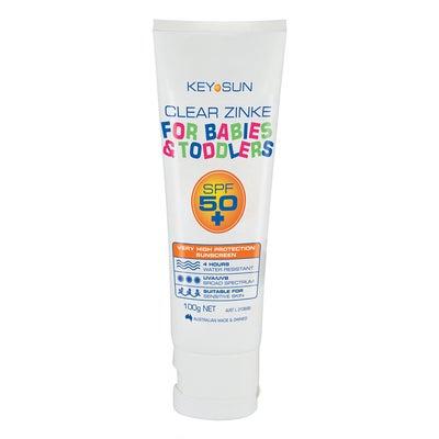 Key Sun Clear Zinke SPF50+ Sunscreen 100g 807738