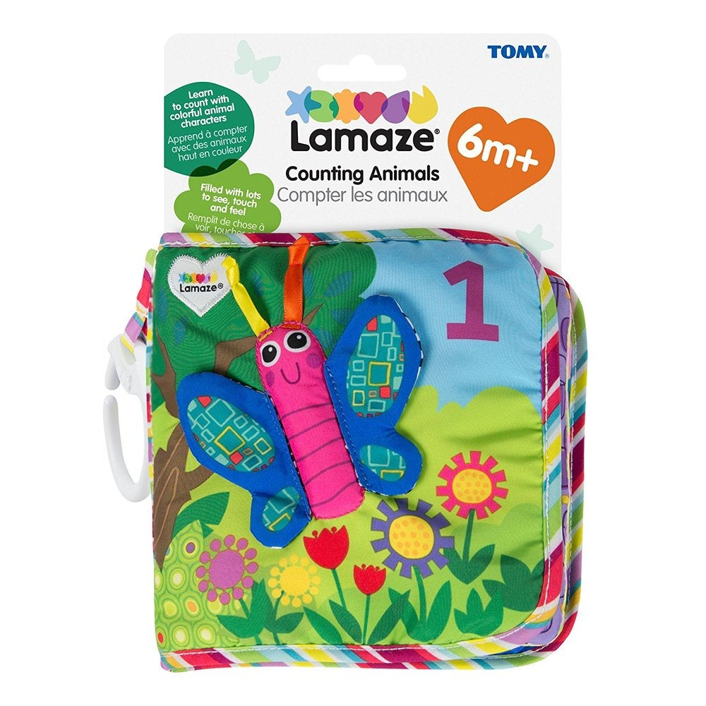 Lamaze Counting Animals Soft Book 804979