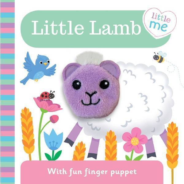 Little Me Lamb Finger Puppet Book 807534