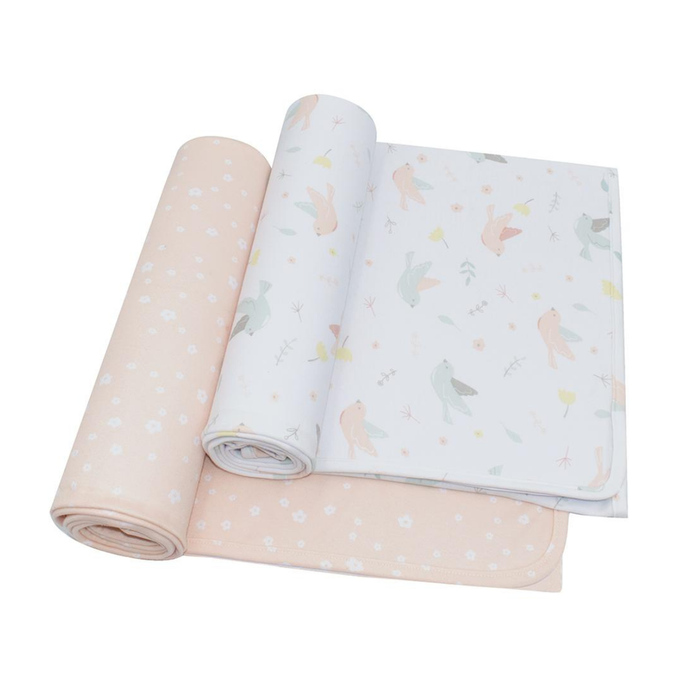 Living Textiles Ava Jersey Wrap 2 Pack 808390