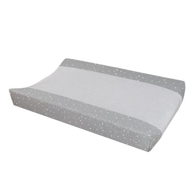 Living Textiles Change Mat Cover - Silver Stars 806199