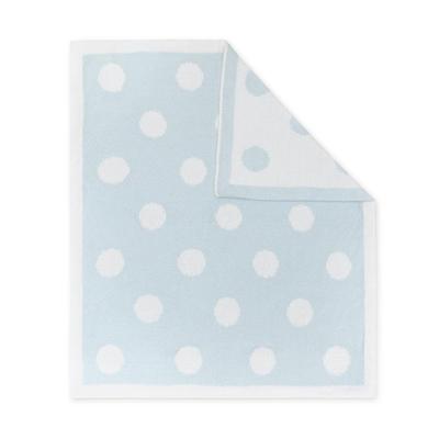 Living Textiles Chenille Pram Blanket Dots 808246001