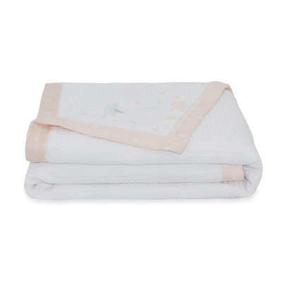 Living Textiles Cot Waffle Blanket - Ava 808399