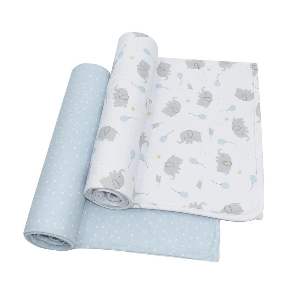 Living Textiles Jersey Wrap 2 Pack - Mason 808392