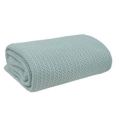 Living Textiles Organic Bassinet Cell Blanket - Sage 807941