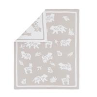 Lolli Living 100% Cotton Knit Bosco Bear Pram Blanket 808263