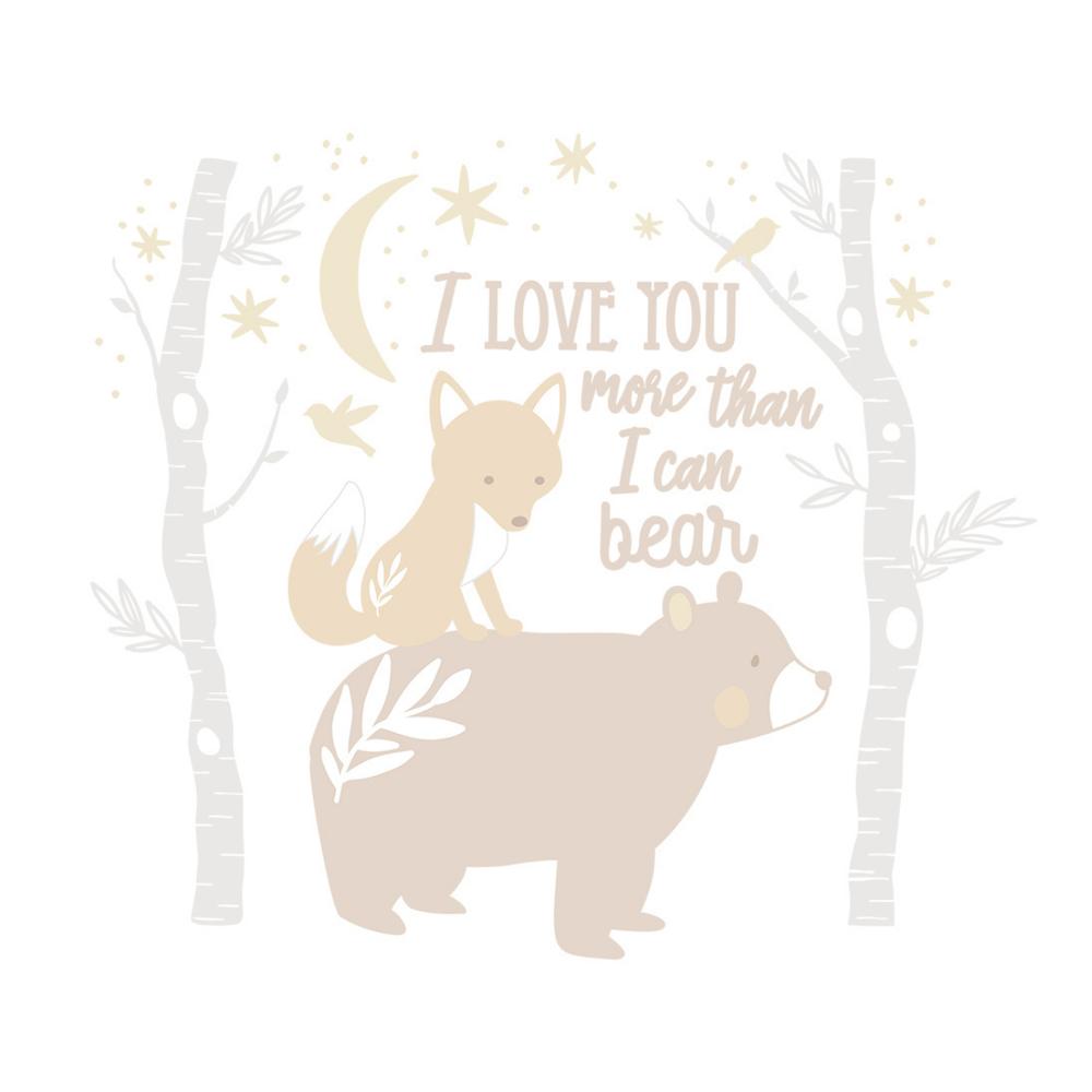 Lolli Living Bosco Bear Wall Decal 808268