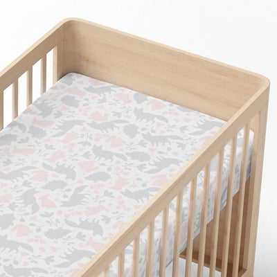 Lolli Living Forest Friends Cot Fitted Sheet - Forest 806936