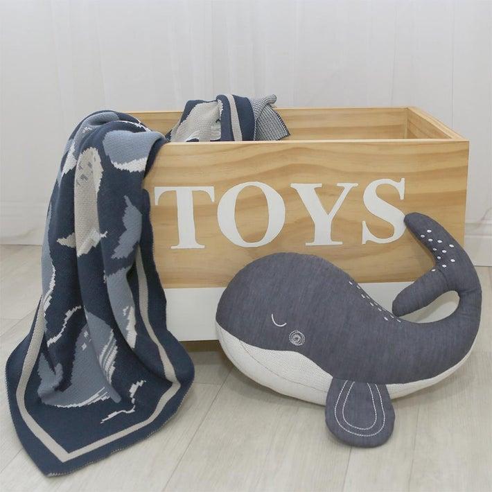 Lolli Living Oceania Cushion - Whale 807815
