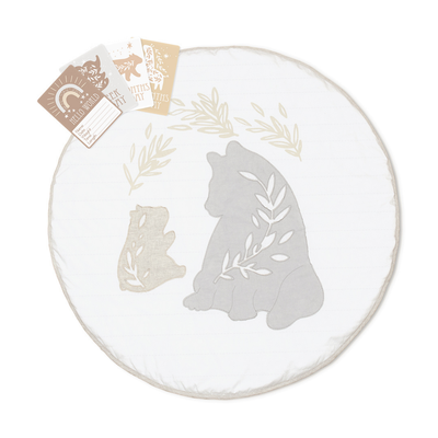 Lolli Living Round Playmat With Milestone Cards 808266