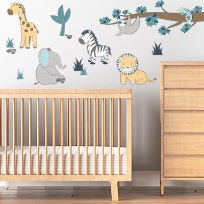 Lolli Living Urban Safari Wall Decal Set 806925