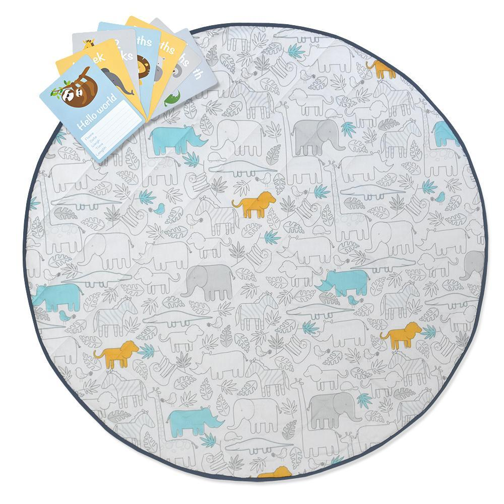 Lolli Living Urban Safari Round Playmat 806923