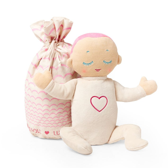 Lulla Doll Sleep Companion G3 - Coral Pink 806547