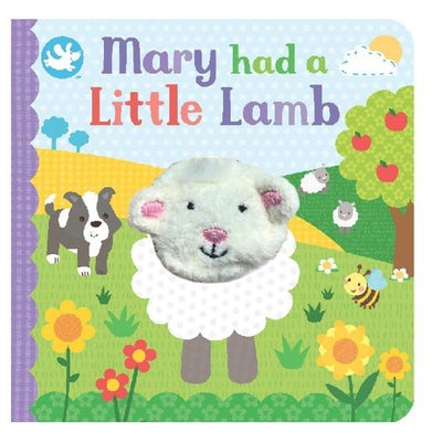 Mary Had A Little Lamb Finger Puppet Book 804941
