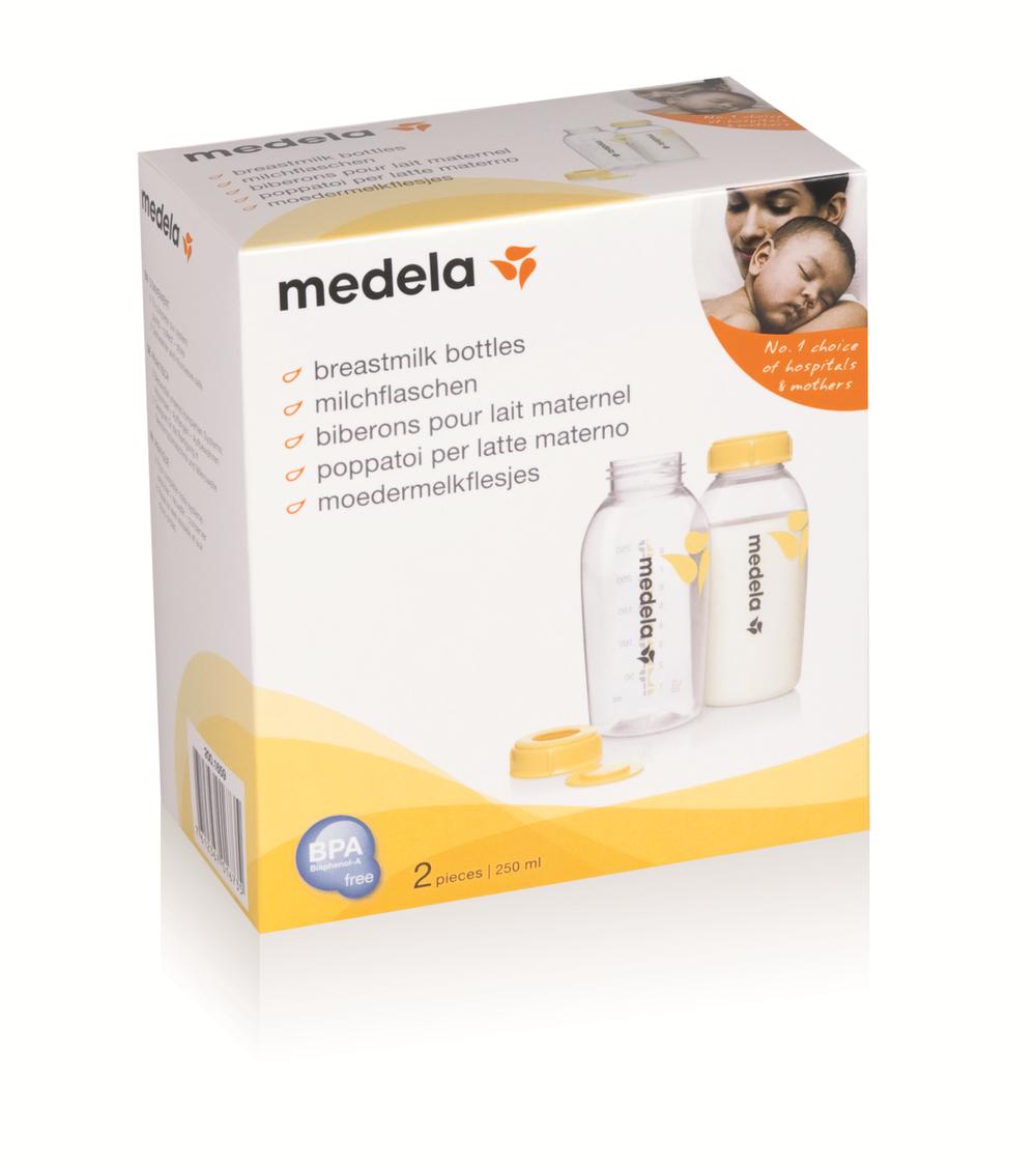Medela 250ml Bottles -2 pack  711344