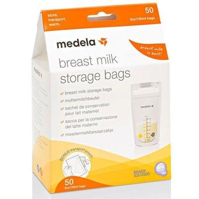Medela Breast Milk Storage Bags 50PK 806508