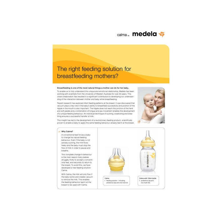 Medela Calma with Bottle 150ml 725037